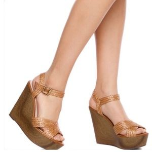 NIB 'Wilma' by Madison for Shoe Dazzle - Brown 8.5